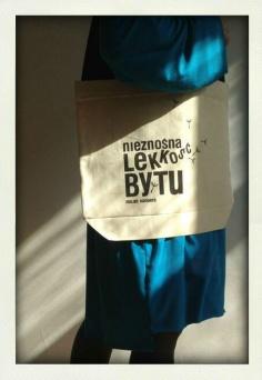 Nieznośna lekkość bytu torba Kurdemol
