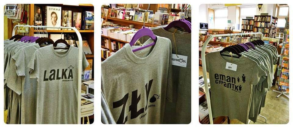 Kurdemol w księgarni
