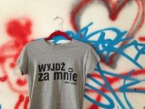 Koszulka Wyjdz za mnie Kurdemol